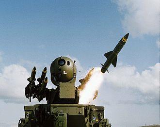 Colin Baron - Rapier missile in 2001