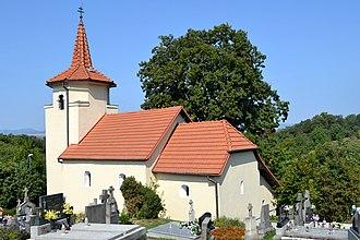 Ratnovce - Church in Ratnovce