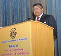Ravi Shankar Prasad addressing at the release of the NALSA Theme Song, launch of the NALSA Web Portal and inauguration of the National Consultant on Challenges in Mediation and Way Forward, in New Delhi.jpg