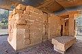 Re-erected Semna Temple - Sudan National Museum.jpg