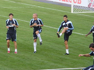 Galácticos - Kaká (left) and Cristiano Ronaldo (right) are two galácticos.