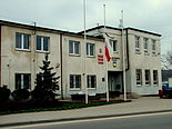 Reda Town Hall after president's plane crash 2010.jpg