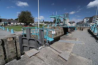 Redon, Ille-et-Vilaine - Lock's port of Redon