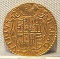 Regno di napoli, carlo V imperatore, oro, 1516-1556, 06.JPG