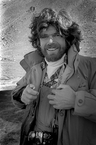 Reinhold Messner in 1985 in Pamir Mountains. Reinhold Messner 3.jpg