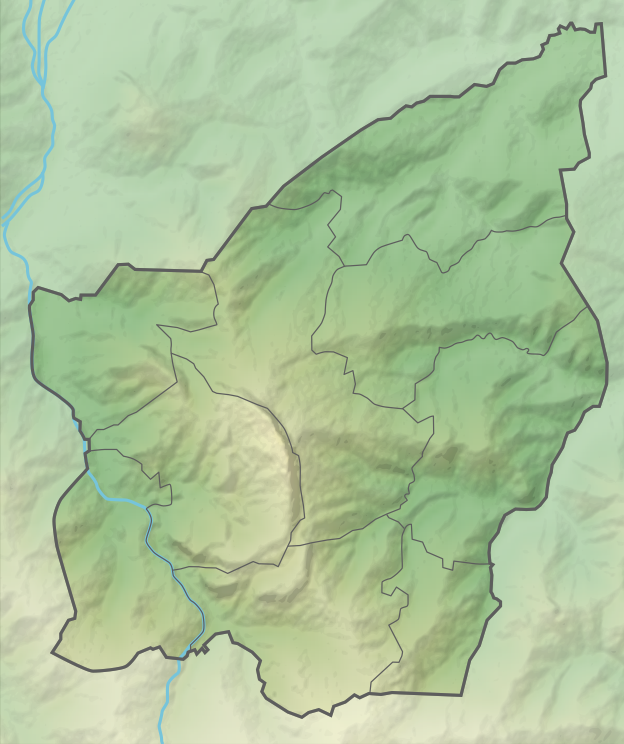 Reliefkarte San Marino