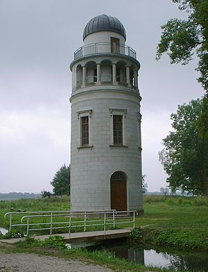 Friedrich von Hahn - Reconstructed tower of the Remplin Observatory
