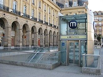 Rennes Metro - Image: Rennes Métro Station République