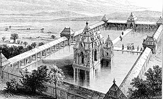 Lalitaditya Muktapida - Image: Restored Martand Sun temple India 1870