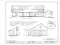 Reyes House, State Highway 101, Calabasas, Los Angeles County, CA HABS CAL,19- ,1- (sheet 2 of 3).png