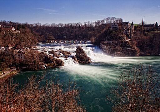 Rheinfall totale