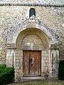 Rhuis (60), église Saint-Gervais-et-Protais, portail.jpg