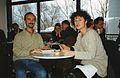 Ricardo Casas en el Festival de Berlin, febrero de 2001, con Kristina Konrad.jpg