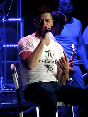 Ricky Martin - Martin performing in Chicago on April 19, 2011.