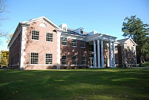 Olivet College - Riethmiller Blackman Art Building, which houses the college's art studios, exhibits, and classrooms.