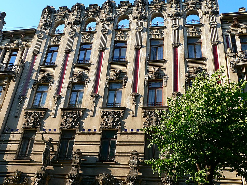 Riga Art Nouveau 1