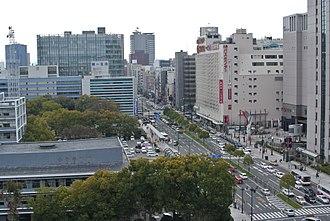 Hiroshima - Down town of Hiroshima City