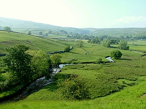 River Aire - Image: River Aire south of Malham