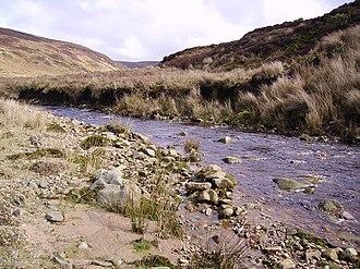 River Calder, Wyre - Image: River Calder geograph.org.uk 142458