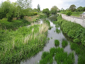 River Yeo (South Somerset) - River Yeo in Ilchester