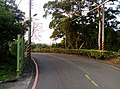 Road from the cemetery of military personnel Hsinchu.jpg