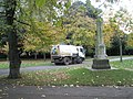 Road sweeping lorry within Victoria Park - geograph.org.uk - 1027607.jpg