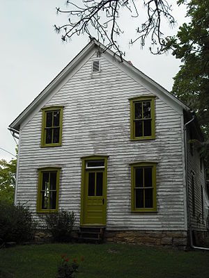 Battle of Black Jack - The Robert Hall Pearson house near the battle site.