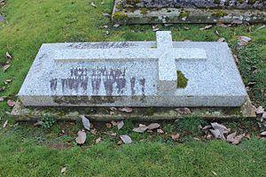 Robert Henry Scott - Grave in Peper Harow, Surrey