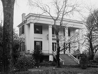 Robert Toombs - Toombs' house in Washington, Georgia, 1934.