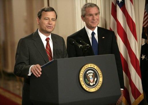 Roberts, Bush SCOTUS announcement