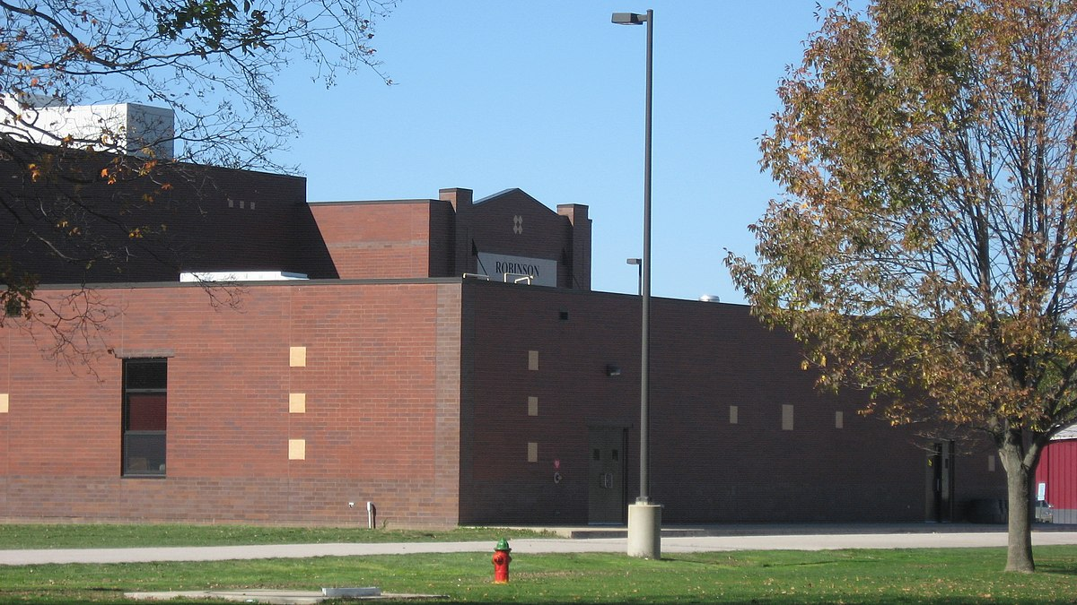 Robinson High School Auditorium Gymnasium Wikipedia