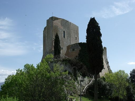 The Castle Rocca Tentennano