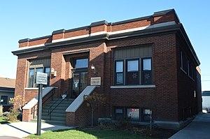 Rockford, Ohio - Carnegie library