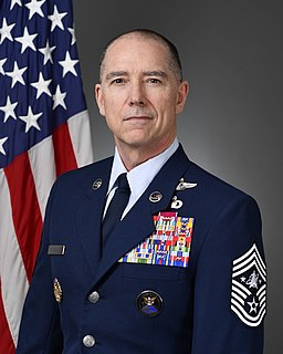 Roger A. Towberman 1st Senior Enlisted Advisor of the Space Force