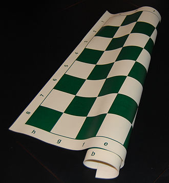 Vinyl group - Chessboard made from polyvinyl chloride