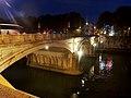 Roma, Ponte Umberto I di notte.jpg