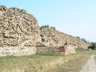 Plovdiv Province - Walls of the Hissarya fortress
