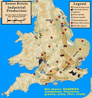 Roman Britain — Industrial Production