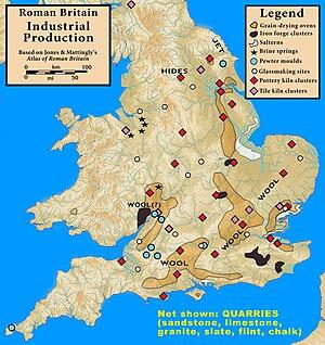 Lloegyr - Image: Roman.Britain.Produc tion