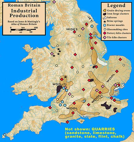Industrial production in Roman Britain Roman.Britain.Production.jpg