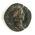 Romerskt bronsmynt med Alexander Severus - Skoklosters slott - 110655.tif