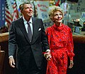 Ronald and Nancy Reagan after Acceptance speech C23749-31 (cropped2).jpg