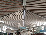 Roof interior at the Aviation Heritage Museum, Bull Creek.jpg
