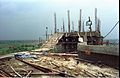 Rooftop Lift Room Under Construction - Dynamotion Hall - Science City - Calcutta 1996-07-30 316.JPG