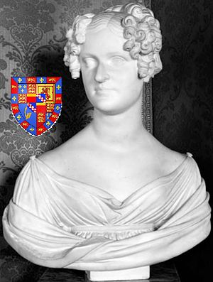Carlos Miguel Fitz-James Stuart, 14th Duke of Alba - The 14th Duke of Alba's wife, Rosalía Ventimiglia y Moncada (1798–1868). Sculpture by Lorenzo Bartolini (1777–1850), Madrid, Fundación Casa de Alba, Palacio de Liria.