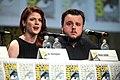 Rose Leslie & John Bradley 2014 Comic Con.jpg