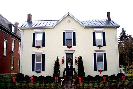 Rosemary Clooney's Riverfront Home, Augusta, Kentucky Rosemary Clooneys home in Augusta.jpg