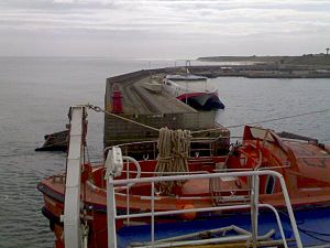 Rosslare Harbour - Image: Roslare Europort 02