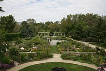 French, Italian, And Herb Gardens. Rotary Botanical ...