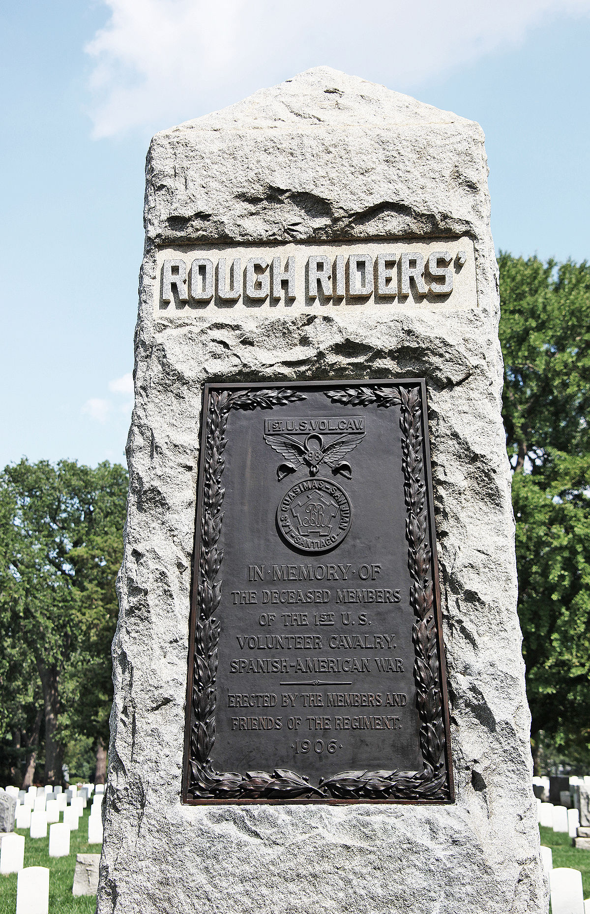A Rough Guide To Types Of Scientific Evidence: Rough Riders Memorial